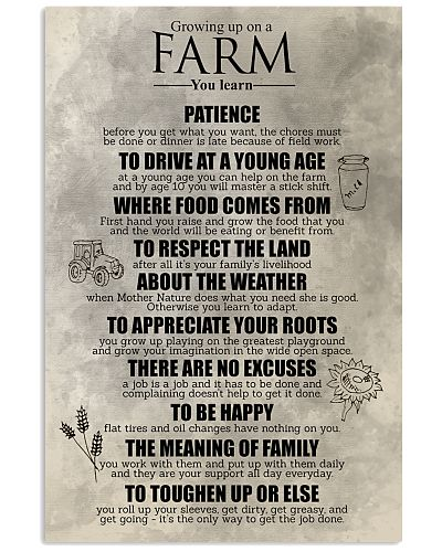 FAMILY FARMER POSTER