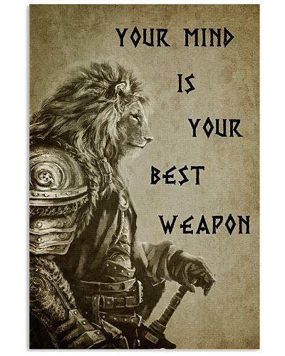 LION - YOUR MIND IS YOUR BEST WEAPON