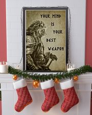 LION - YOUR MIND IS YOUR BEST WEAPON 16x24 Poster lifestyle-holiday-poster-4