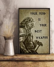 LION - YOUR MIND IS YOUR BEST WEAPON 16x24 Poster lifestyle-poster-3
