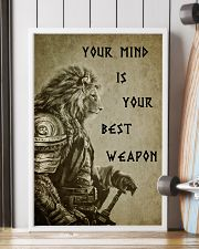 LION - YOUR MIND IS YOUR BEST WEAPON 16x24 Poster lifestyle-poster-4