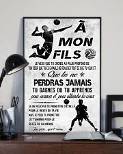 volleyball poster-to son-never lose french vs3 11x17 Poster lifestyle-poster-2