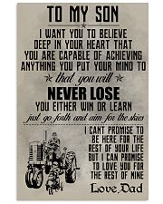 TO MY SON - FARMER POSTER 11x17 Poster front