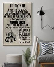 TO MY SON - FARMER POSTER 11x17 Poster lifestyle-poster-1