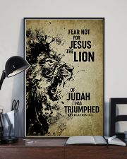 LION - FEAR NOT FOR JESUS 11x17 Poster lifestyle-poster-2