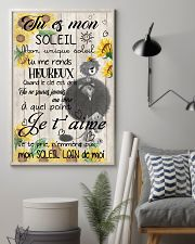 lion poster - You are my sunshine - french vs 11x17 Poster lifestyle-poster-1