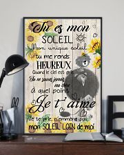 lion poster - You are my sunshine - french vs 11x17 Poster lifestyle-poster-2