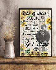 lion poster - You are my sunshine - french vs 11x17 Poster lifestyle-poster-3