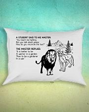 LION - A STUDENT SAID Rectangular Pillowcase aos-pillow-rectangle-front-lifestyle-3