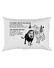 LION - A STUDENT SAID Rectangular Pillowcase back
