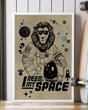 LION - I NEED MY SPACE 16x24 Poster lifestyle-poster-4