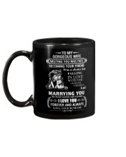 LION - TO MY GORGEOUS WIFE Mug back