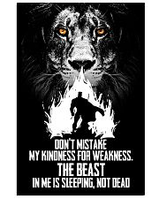LION - TO MY WIFE 16x24 Poster front