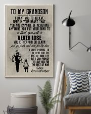 FISHING POSTER TO GRANDSON N034 11x17 Poster lifestyle-poster-1
