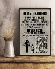 FISHING POSTER TO GRANDSON N034 11x17 Poster lifestyle-poster-3