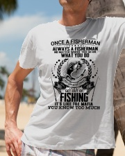 FUNNY FISHING Classic T-Shirt lifestyle-mens-crewneck-front-11