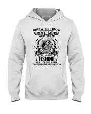FUNNY FISHING Hooded Sweatshirt thumbnail