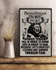 LION - SOMETIMES YOU MUST HURT 16x24 Poster lifestyle-poster-3
