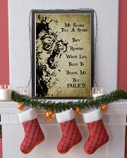 LION - MY SCARS TELL A STORY 11x17 Poster lifestyle-holiday-poster-4