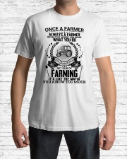 FUNNY FARMER SHIRT Classic T-Shirt lifestyle-mens-crewneck-front-1