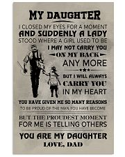 FISHING POSTER FOR DAUGHTER 11x17 Poster front