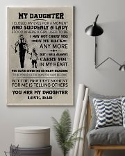 FISHING POSTER FOR DAUGHTER 11x17 Poster lifestyle-poster-1