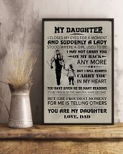 FISHING POSTER FOR DAUGHTER 11x17 Poster lifestyle-poster-3