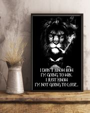 LION - A STUDENT SAID  16x24 Poster lifestyle-poster-3