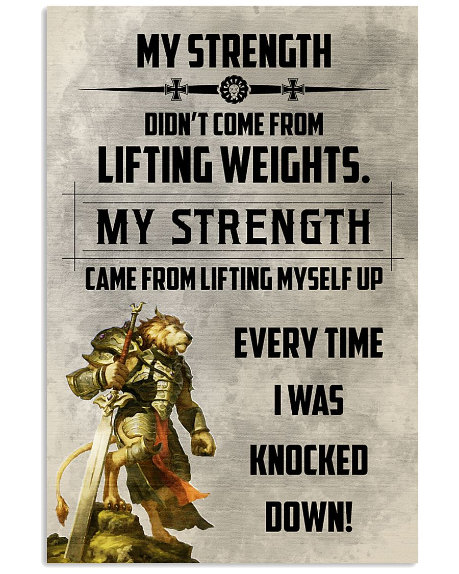 LION - MY STRENGTH 16x24 Poster