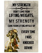 LION - MY STRENGTH 16x24 Poster front