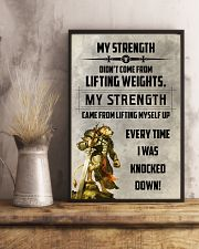 LION - MY STRENGTH 16x24 Poster lifestyle-poster-3