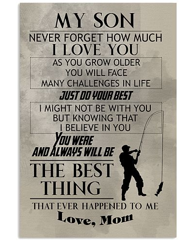 FISHING POSTER TO SON N029