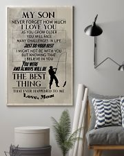 FISHING POSTER TO SON N029 11x17 Poster lifestyle-poster-1