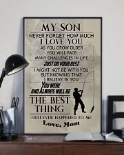 FISHING POSTER TO SON N029 11x17 Poster lifestyle-poster-2
