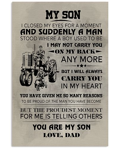 FARMER POSTER TO SON N031