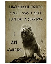LION - I HAVE BEEN FIGHTING 16x24 Poster front