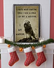 LION - I HAVE BEEN FIGHTING 16x24 Poster lifestyle-holiday-poster-4