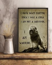 LION - I HAVE BEEN FIGHTING 16x24 Poster lifestyle-poster-3