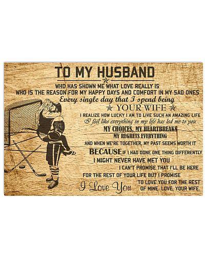 HOCKEY - TO MY HUSBAND
