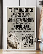 LION - TO MY DAUGHTER 16x24 Poster lifestyle-poster-4