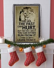 LION - OH YES THE PAST CAN HURT 16x24 Poster lifestyle-holiday-poster-4