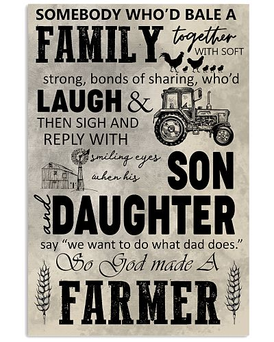 FARMING POSTER - TO MY SON