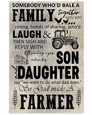 FARMING POSTER - TO MY SON 11x17 Poster front