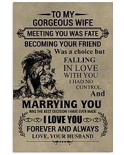 LION - TO MY GORGEOUS WIFE Vertical Poster tile