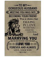 LION - TO MY GORGEOUS HUSBAND 11x17 Poster thumbnail