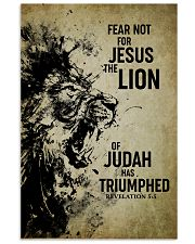 LION - FEAR NOT FOR JESUS 11x17 Poster front