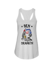 Ben drankin shirt Ladies Flowy Tank tile