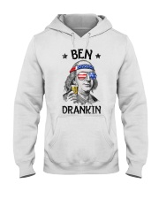 Ben drankin shirt Hooded Sweatshirt thumbnail