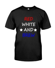 RED WHITE AND BREW T-Shirt Premium Fit Mens Tee thumbnail