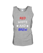 RED WHITE AND BREW T-Shirt Unisex Tank thumbnail